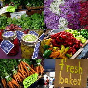 so many wonderful choices at your local farmers market!